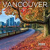 Vancouver 2020 12 x 12 Inch Monthly Square Wall Calendar, Canadian Regional Travel Canada