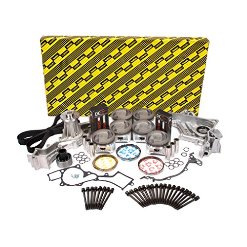 Evergreen OK3021M/2/0/0 Fits 97-04 Infiniti QX4 Nissan Pathfinder Frontier 3.3L SOHC 12V VG33E Master Overhaul Engine Rebuild Kit