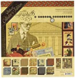 Graphic 45 4501806 A Proper Gentleman Deluxe Collector's Edition Paper Pack, Multi