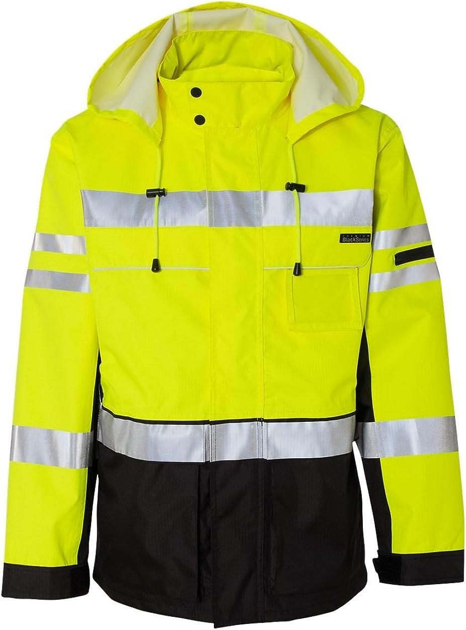 ML Kishigo JS135-136 OFFicial site Black Series specialty shop Jacket 2-in-1