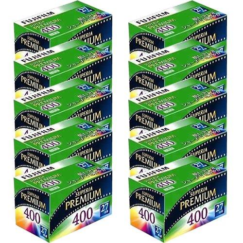 【10個セット】フジフイルム フジカラー スぺリアプレミアム 400 27枚撮り 135 PREMIUM 400 27EX 1 [カラーネガフィルム][FUJIFILM]