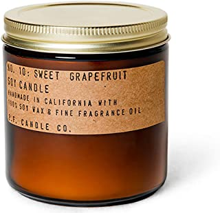 P.F. Candle Co. - No. 10: Sweet Grapefruit Soy Candle (Large 12.5 oz)