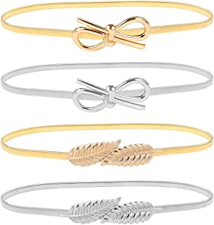 Amazon.co.uk: Gold Belts Accessories: Clothing