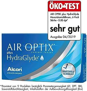 AirOptix Plus Hydraglyde 10109106 Lentes de Contacto, R 8.6, D 14.2, Dioptría -03.75-6 Unidades