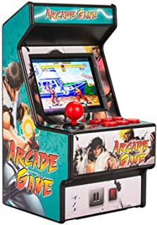 CX TECH Giochi palmari Retro Arcade Classic Arcade Old Style Mini Double Play 16 Bit 28 Pollici Schermo a Colori Eye-Screen protetto