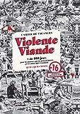 Cahier de vacances - Violente Viande - + de 100 jeux pour les pauvres qui ne partent jamais et les riches qui s ennuient