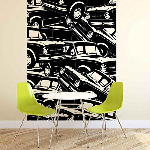 Autos, vintage, fotobehang, muurschildering, behang, 2463FW