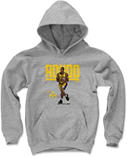 500 LEVEL Rajon Rondo Los Angeles Basketball Kids Hoodie - Rajon Rondo Hyper