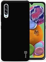 CoverON Slim Fit TPU Rubber FlexGuard Series for Samsung Galaxy A90 5G Case (2019), Gloss Black
