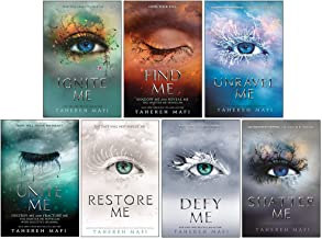 Shatter Me Series 7 Books Collection Set By Tahereh Mafi (Ignite Me, Find Me, Unravel Me, Unite Me, Restore Me, Defy Me, S...