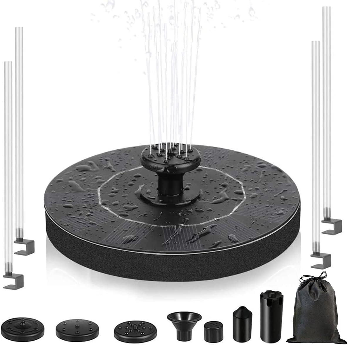 Special sale item Solar Bird Bath Fountain Upgrade Over item handling ☆ 1.4W with Pump
