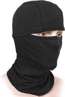 Balaclava face mask men & women uv protection for motorcycle sports ski outdoors running dust mask black full