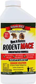Nature's Mace Rodent Mace 40oz Concentrate/Covers 16,800 Sq. Ft. / Repel Mice & Rats/Keep mice, Rats & Rodents Out of Home...