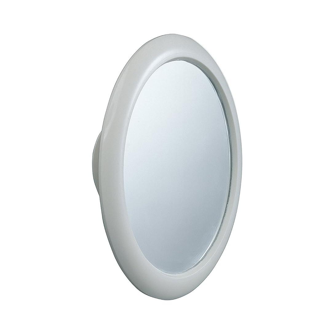 代数的折り目レンズレック バス用 くもらない 見える ミラー 丸型 ( 風呂用 くもり止め 曇り止め 鏡 )