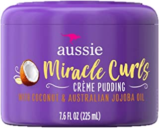 Aussie Creme Pudding Miracle Curls 7.6 Ounce Jar (225ml) (2 Pack)