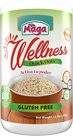 Wellness Quick Oats - 100% Gluten Free by Maga Foods Puerto Rico - 11.3 Oz