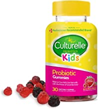 Culturelle Kids Daily Probiotic Gummies - Prebiotic + Probiotic - from The #1 Pediatrician Recommended Brand - Helps Maint...