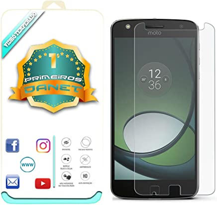 Película De Vidro Temperado Para Motorola Moto Z Play Xt1635 5.5