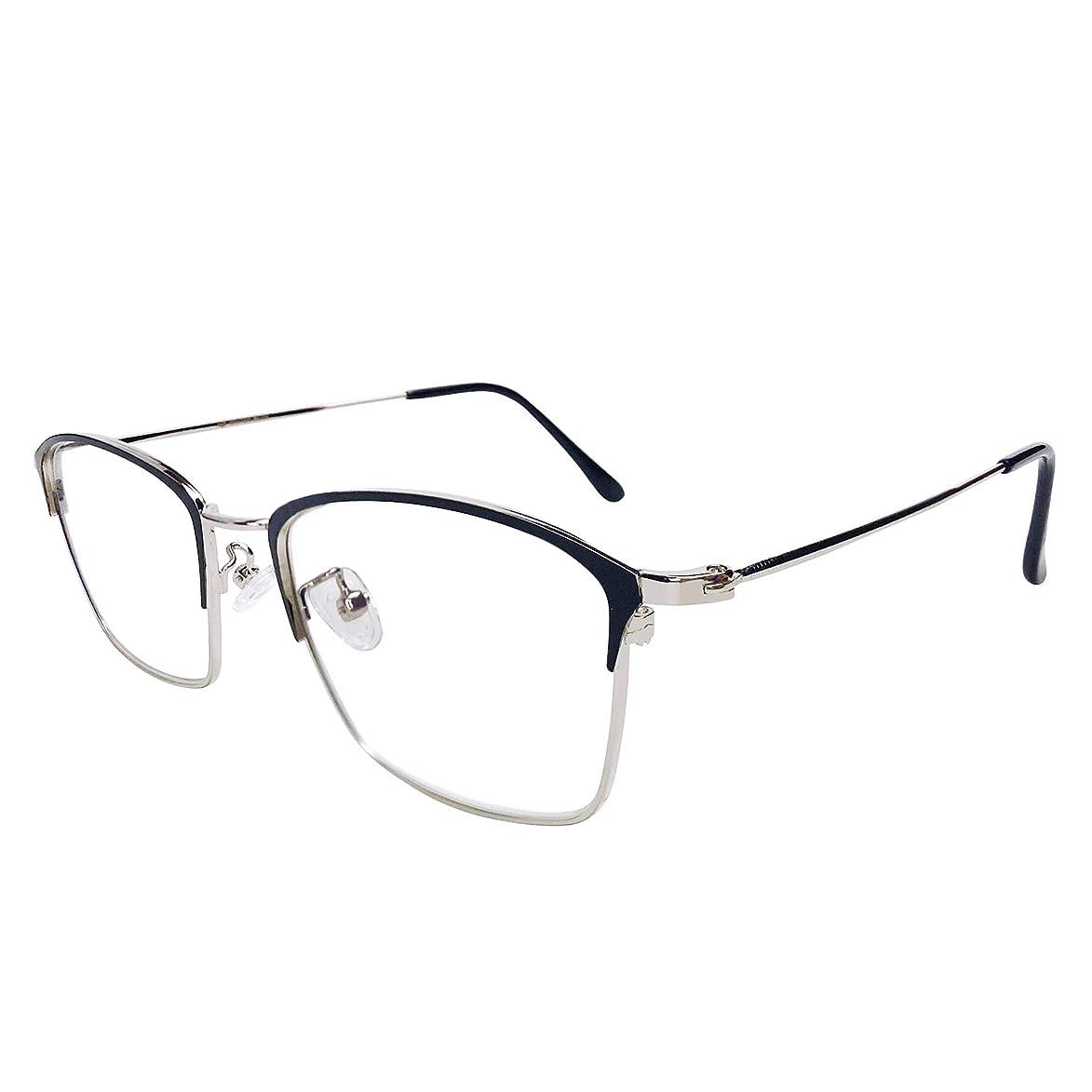 WINTER PLUM Reading Glasse,Blue Light Blocking Computer Glasses,Anti UV Glare Harmful for Men and Women(9007/Black)