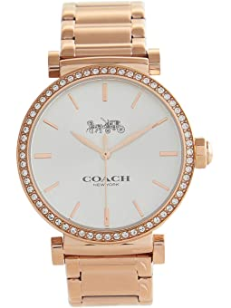 코치 여성 시계 COACH Essential,Silver/White 5