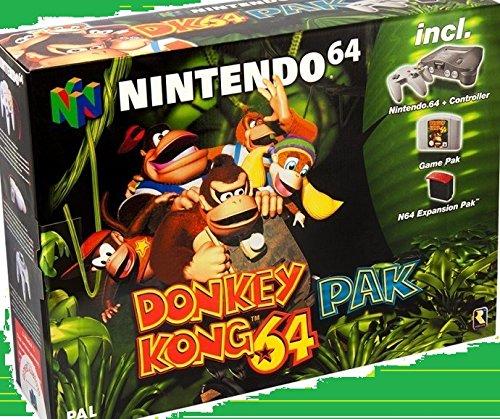 Console Nintendo 64 + Donkey Kong + Expansion Pack