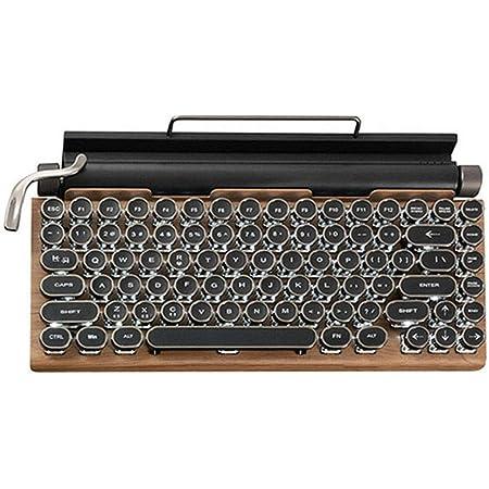 AZIO Retro Teclado compacto, R.C.K. ELWOOD, teclado mecánico ...