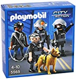 Playmobil 5565 City Action Police Tactical Unit Team