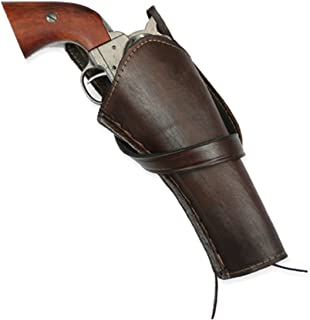 cross draw leather revolver holsters