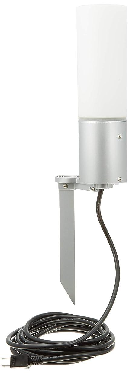 サラダワイヤーペース遠藤照明+LED庭園灯+スパイクタイプ+色シルバーメタリック ERL8214S