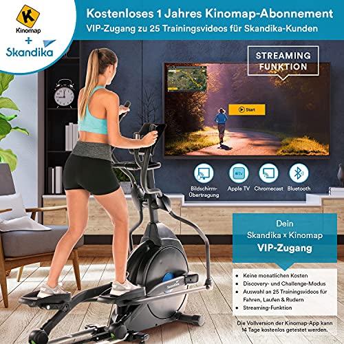 Skandika Crosstrainer CardioCross Carbon Champ Ellipsentrainer - 2