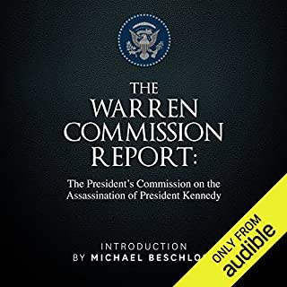 The Warren Commission Report audiobook cover art