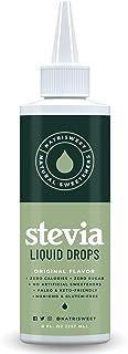 NatriSweet Original Stevia Liquid Drops 8 fl oz (237 ml of 1800+ Drops), Natural Stevia Sweetener, Zero-Carb & Zero-Calori...