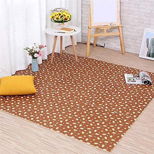 Best Bargain Pastoral Style Puzzle Foam Floor Mat, Household Stitching Children Crawling Mat, Thicke...