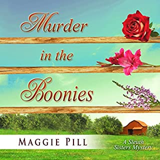 Murder in the Boonies audiobook cover art