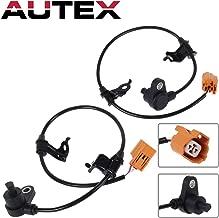 AUTEX 2PCS ABS Wheel Speed Sensor Rear Left & Right ALS800 ALS802 57475-S0K-A53 57470-S0K-A53 compatible with Honda Accord 1998 1999-2002 2.3L 3.0L/Acura CL 2001-2003 3.2L/Acura TL 1999-2003 3.2L