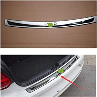 AXCDE~Stainless Steel Protective Decorative Cover Sticker Volkswagen Polo car 2012-2016 Protection Specific Scratch Protec...