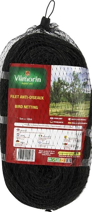 Novatool Filet de protection pour oiseaux Vert I 2 x 5 m I 20 x 20 mm I 2 x 5 m vert
