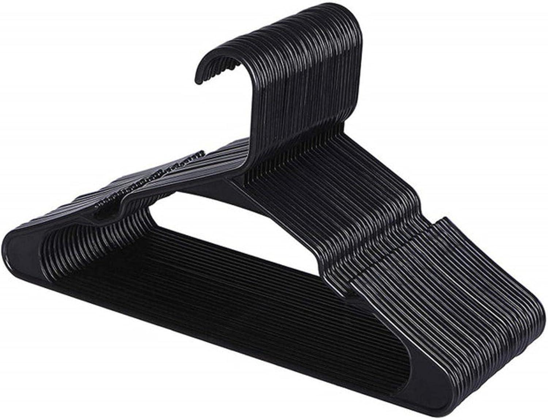 Max 46% OFF HJCSMM 10Pcs Very popular Home Plastic Clothes Hangers for Slim Coat Notched