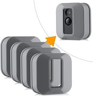 Blink XT Hülle, Silikon Skin für Blink XT Outdoor Home Security Kamera UV und Wasserfest, Indoor Outdoor Blink XT Schutzhülle, 4er Pack, Grau