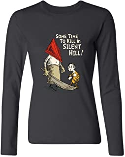 XIULUAN Women's What Was I Scared Of Dr. Seuss Long Sleeve T-shirt