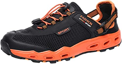SUNyongsh Men Shoes New Anti-Skid and Wear-Resistant Hiking Shoes for Outdoor Sports