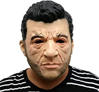 Masks Adults Latex Head Mask,The Marvel Toys Wolverine X-Men Hugh Jackman Carnival & Halloween Fancy Dress Costume