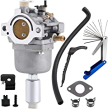 Jyeee New 799727 Carburetor Carb Replacement with Overhaul Kit for Briggs & Stratton 14HP 15HP 16HP 17HP 18HP Models Replace OE# 791886 698620 690194 499153 498061