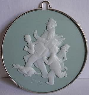Norman Rockwell sixth in series Jolly Postman 1985 hallmark ornament