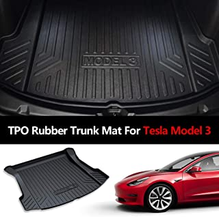Momoap//Black Leather Car Boot Pad Liner Cargo Mat Tray Trunk Floor Protector Mat for Lexus NX 2015-2019