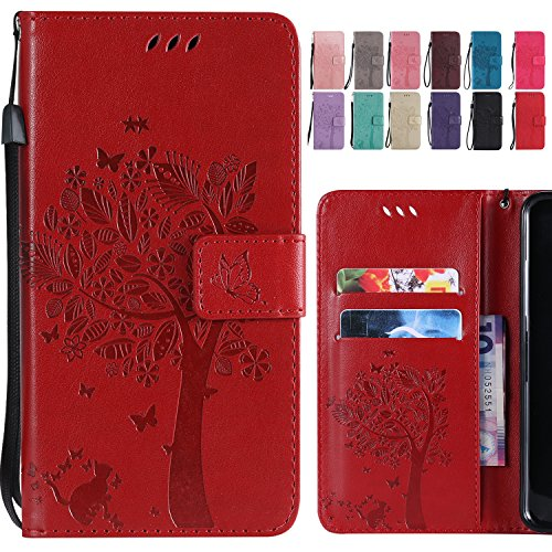 JAWSEU Custodia Huawei Mate 20 Lite,Cover Huawei Mate 20 Lite Pelle Portafoglio,Wallet Pouch 3D Colorato Creativo Leather Flip Telefono Custodia Magnetica Supporto Case Cover,Floreale