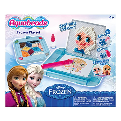 Aquabeads Disney Frozen Playset - Create Bead Art of their Favorite Frozen Characters - 900 Beads