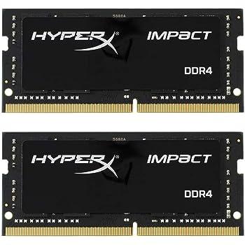 キングストン Kingston ノートPC用メモリ DDR4 2933MHz 16GBx2枚 HyperX Impact CL17 1.2V Unbuffered SODIMM HX429S17IB2K2/32 永久保証