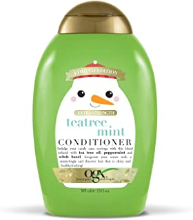 OGX Holiday 2019 limited edition tea tree mint conditioner, 13 Ounce