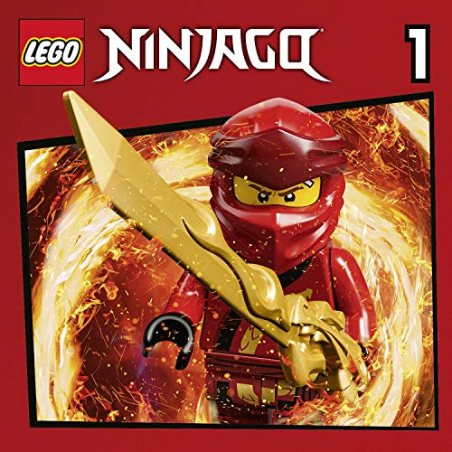 Lego Ninjago 1-4 audiobook cover art